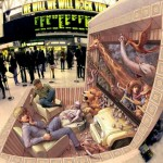 3D Sidewalk Drawing par Kurt Wenner - D'inspiration Jumanji
