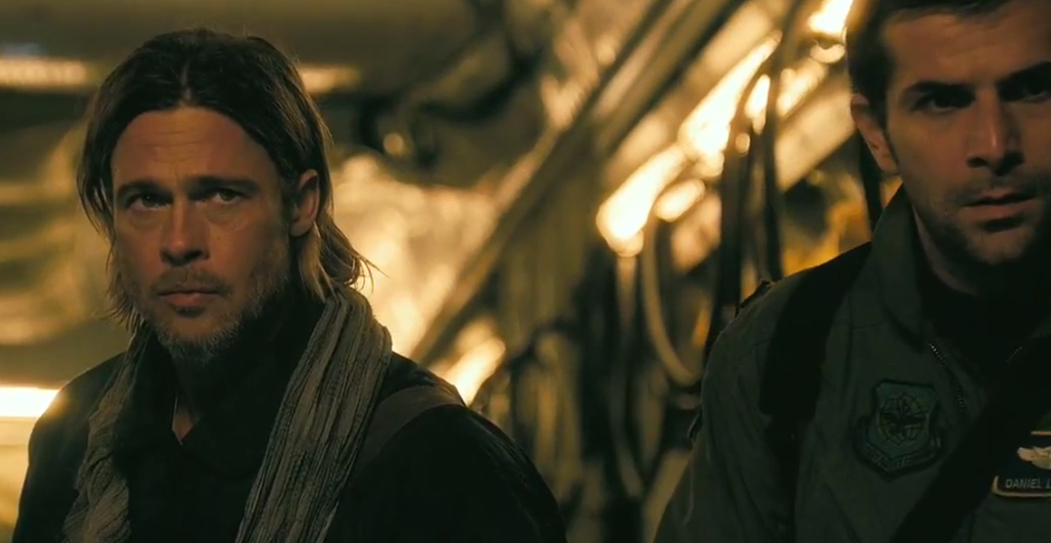 World War Z – Brad Pitt et Gregory Fitoussi