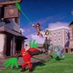 DisneyInfinity image du jeu avec mains collantes