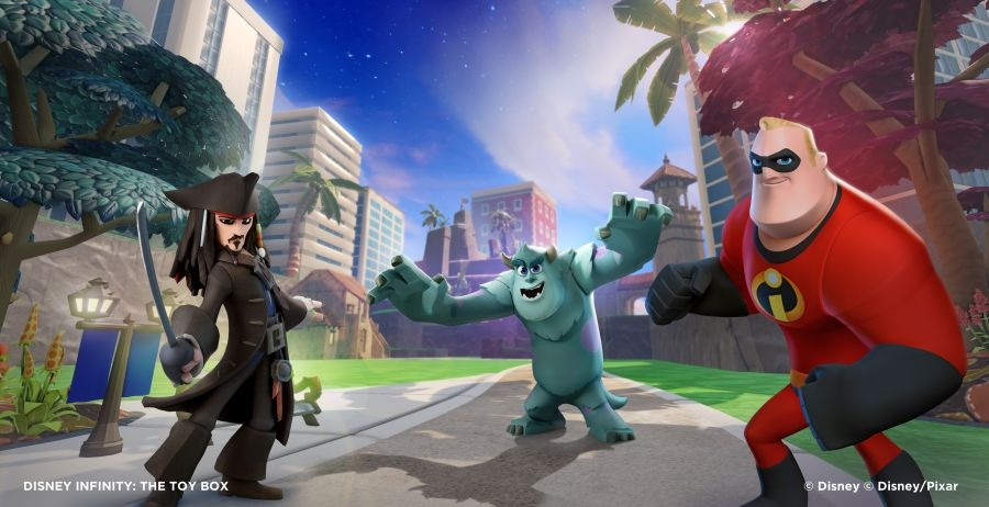 DisneyInfinity les personnages initiaux