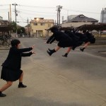 Dragon Ball Z Kamehameha par des school girls japonaises 2