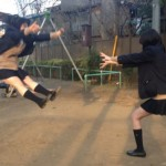 Dragon Ball Z Kamehameha par des school girls japonaises 5