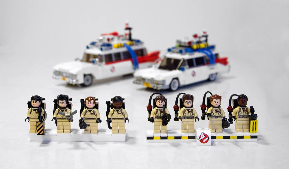 Lego Ghostbusters Ecto 1 et personnages