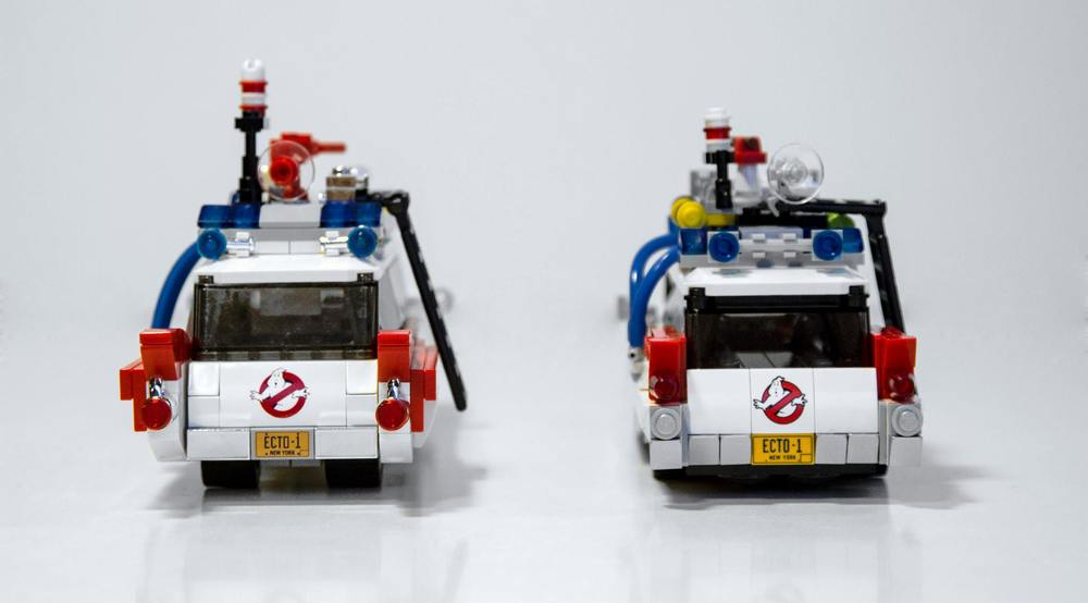 Lego Ghostbusters Ecto 1