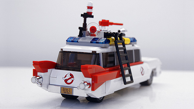 Lego Ghostbusters Ecto 1 – Projet original